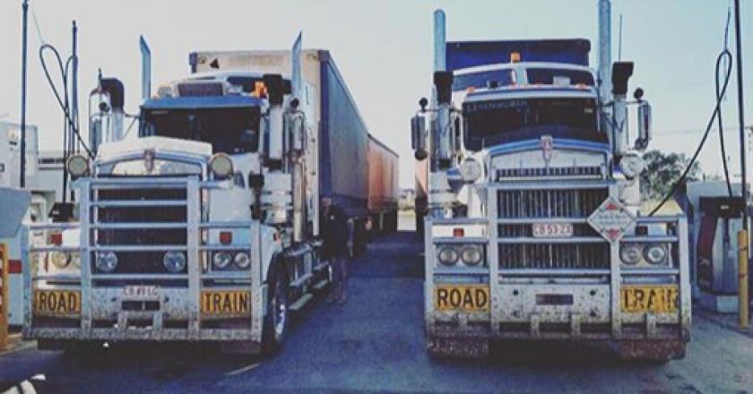 Around Australian Trucking With Instagram