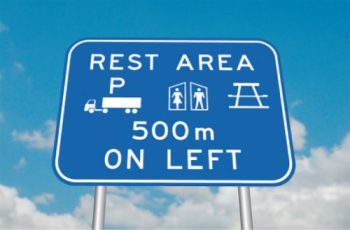 truck rest area data available