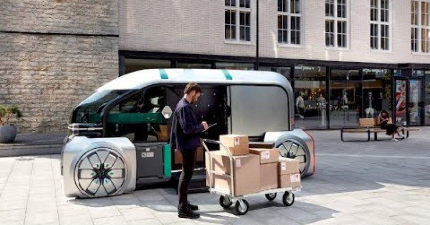 robo delivery concept