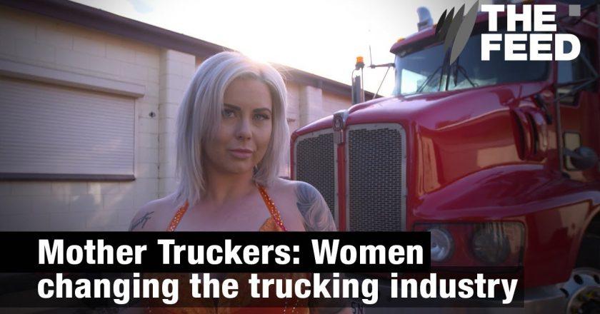women changing trucking