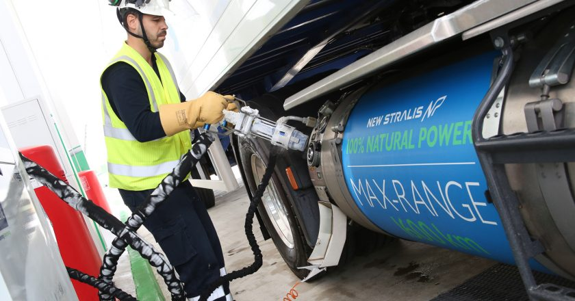 London to Madrid on a single fill of LNG