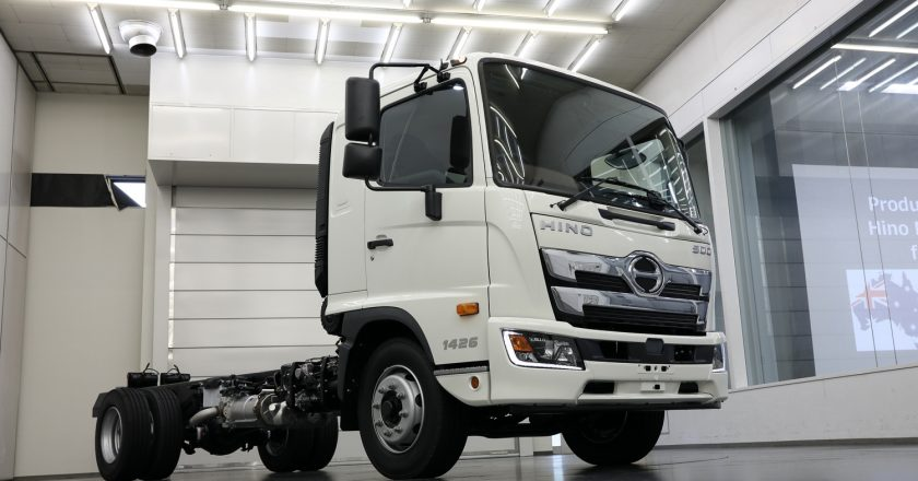 changes in the new Hino 500