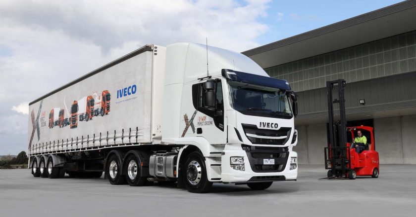 the first group of IVECO's new Stralis X-Way