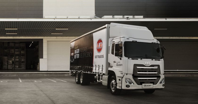 UD launches the eight litre Quon