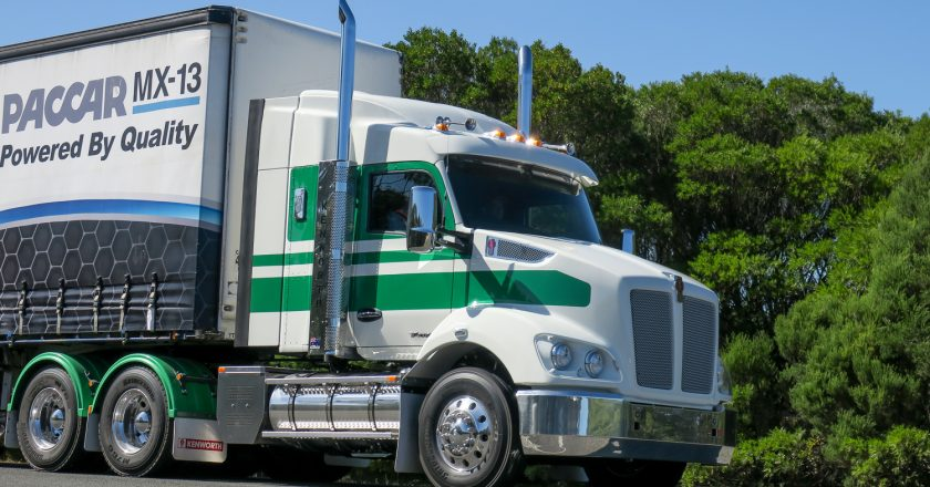 driving the new Kenworth T410 and T360