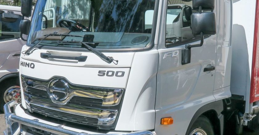 new Hino 500 models out on the road