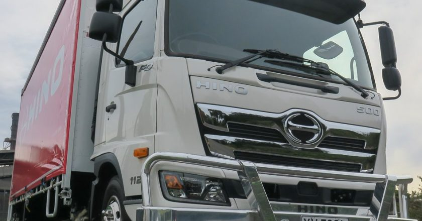 the nuts and bolts of the Hino 500