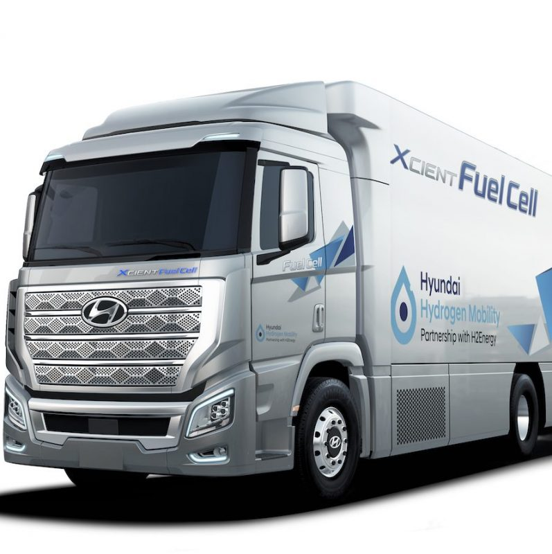 development of fuel cell/electric powertrains for trucks