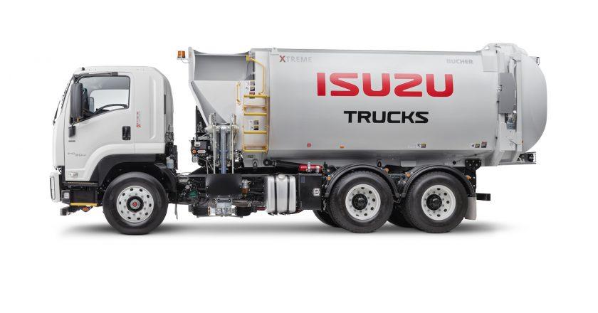 Isuzu focusing on the waste industry