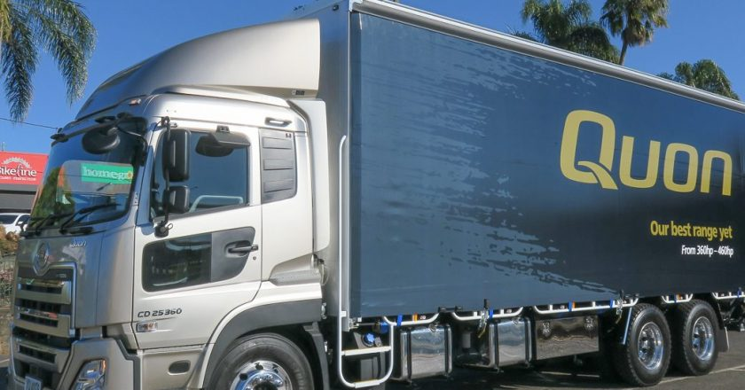 UD Trucks' smooth operator