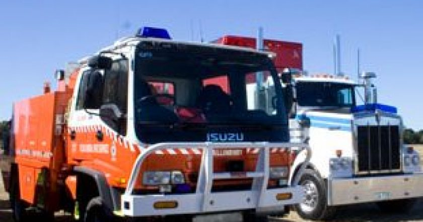 bushfire assistance for the trucking industry