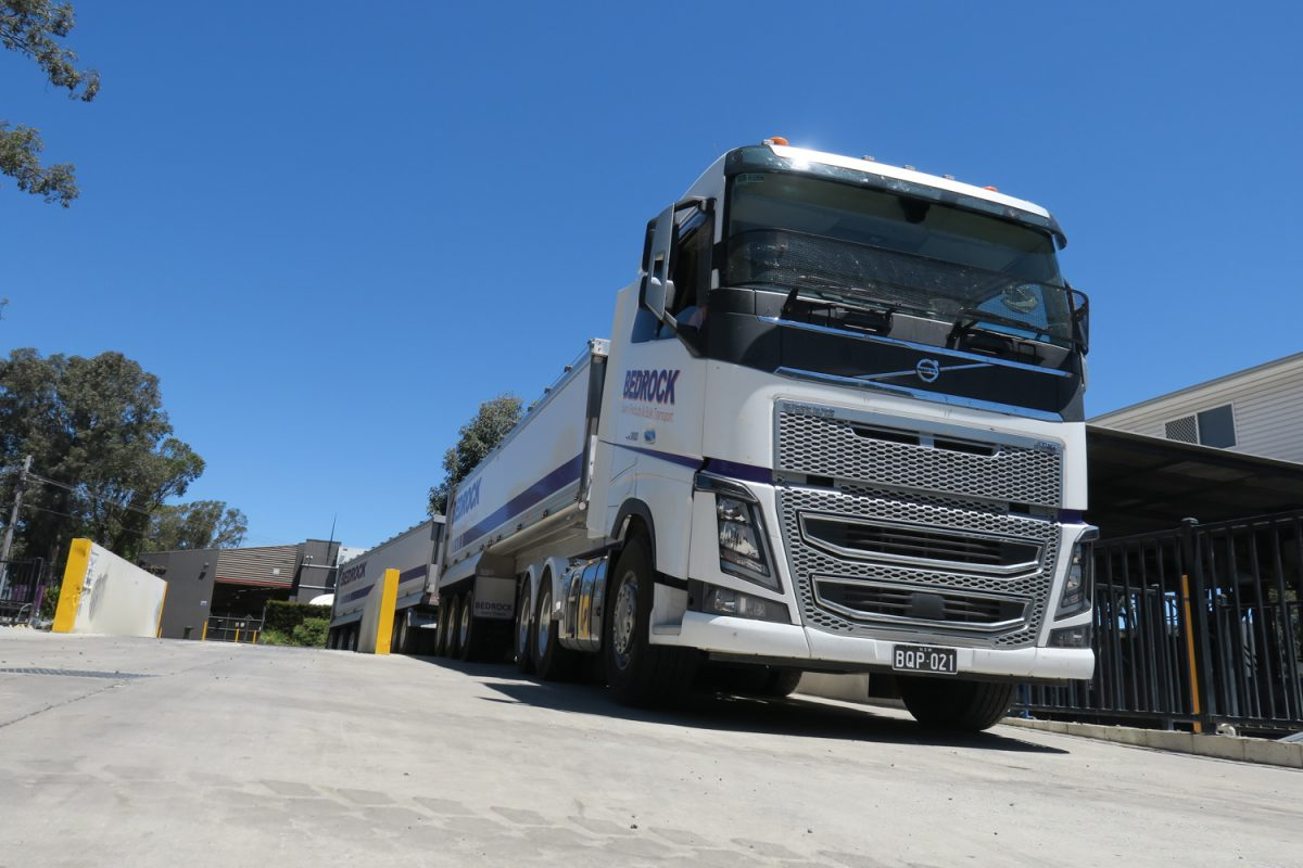 trucks running in innovative combinations up to 85.5 tonnes