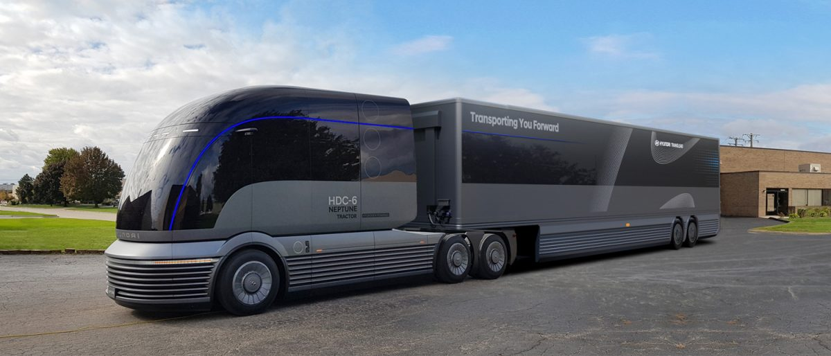 a hydrogen future for trucks