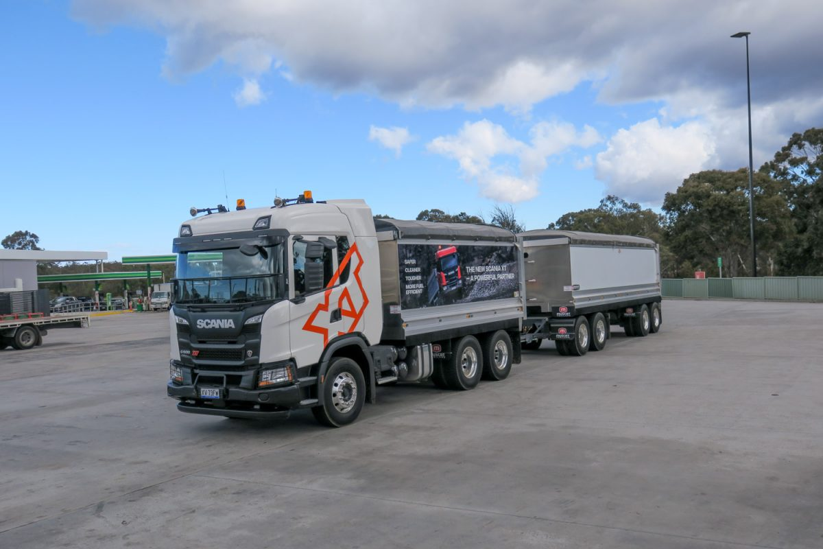 European tipper and dog sales growth