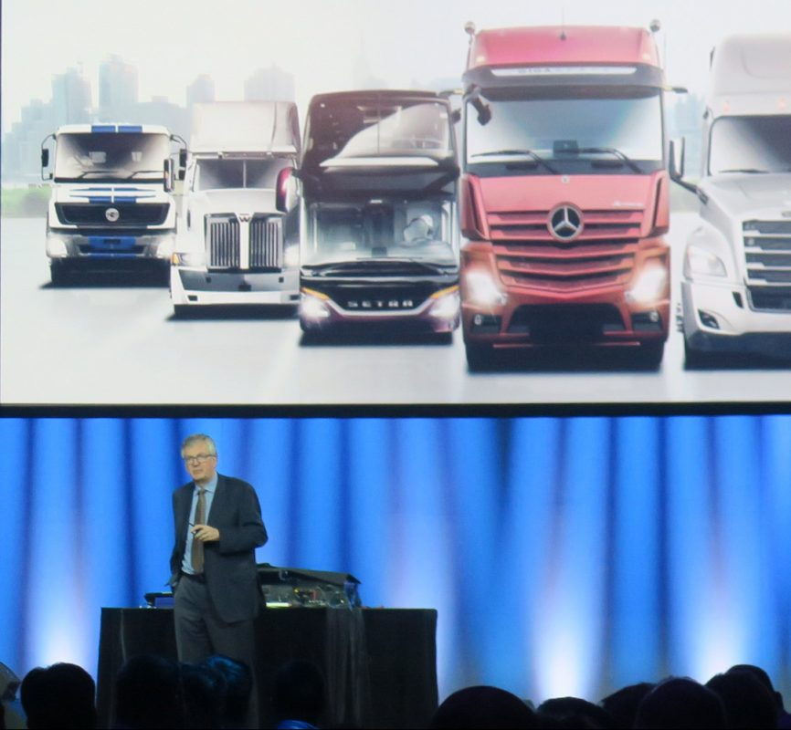 looking at the big picture for Freightliner