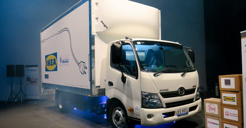 drive a practical electric truck