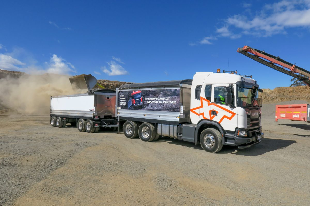 a cabover tipper which ticks all of the boxes