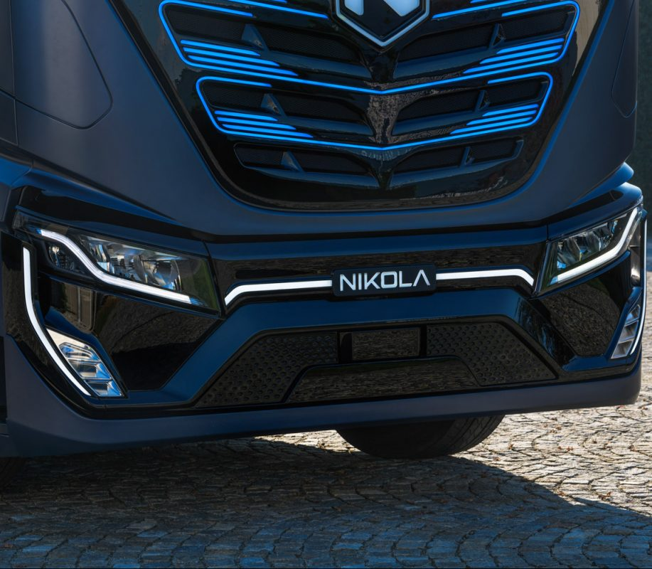 zero-emission truck, Nikola Tre