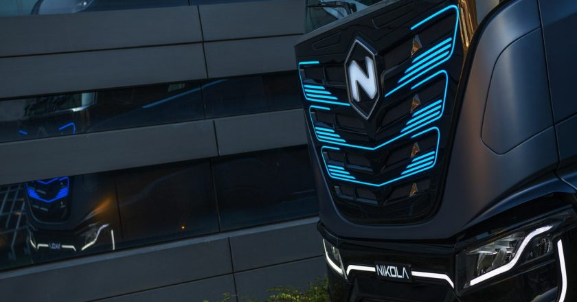 a zero-emission heavy duty truck