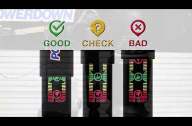 check your vehicle ride height at a glance