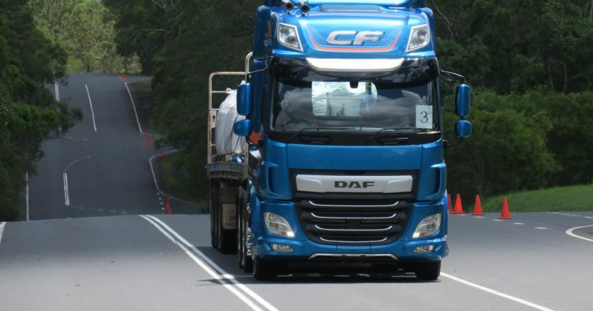 new look, new technology, new DAF