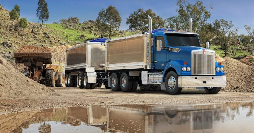 Kenworth mix classic with modern in a new model