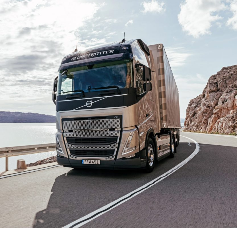 new face-lifted FH and FH16