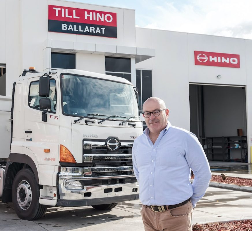 expansion of the Hino network