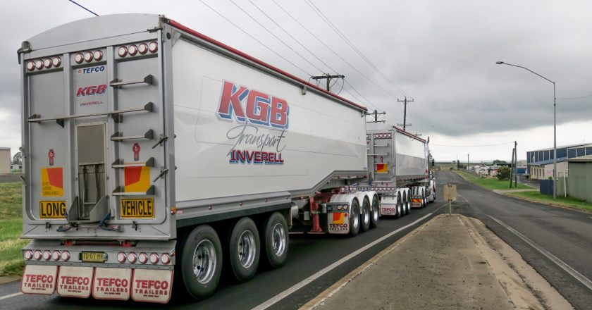 trailers to maximise productivity