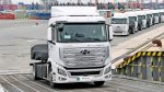 first fuel cell trucks shipped