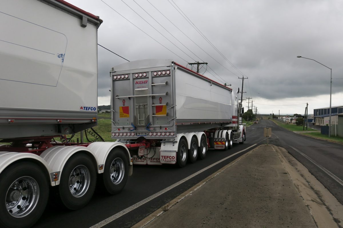 common sense change in road train rules in NSW
