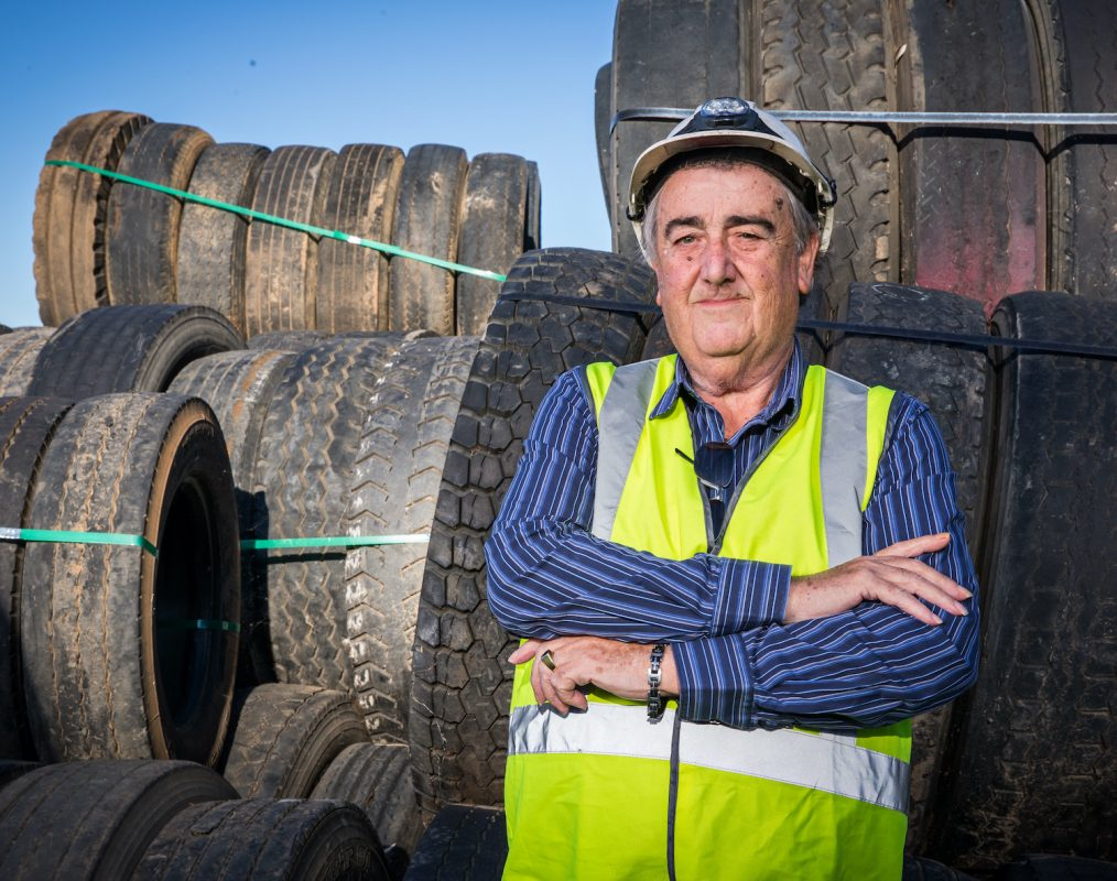 turning old tyres into hydrogen