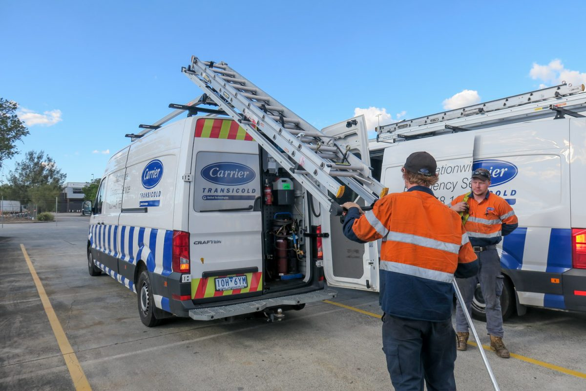 keeping freight cool in Brisbane