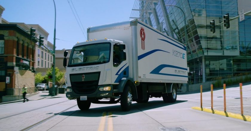 could this electric Kenworth come down under?