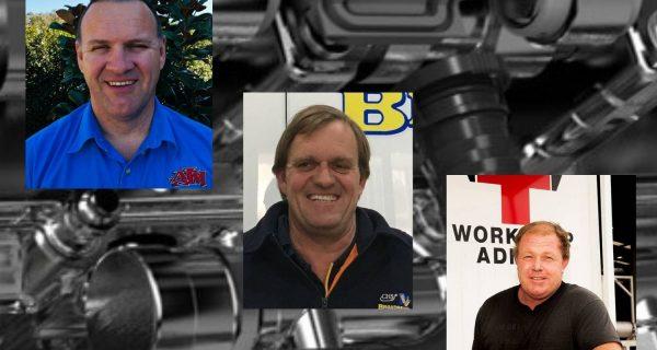 three exceptional workshop professionals