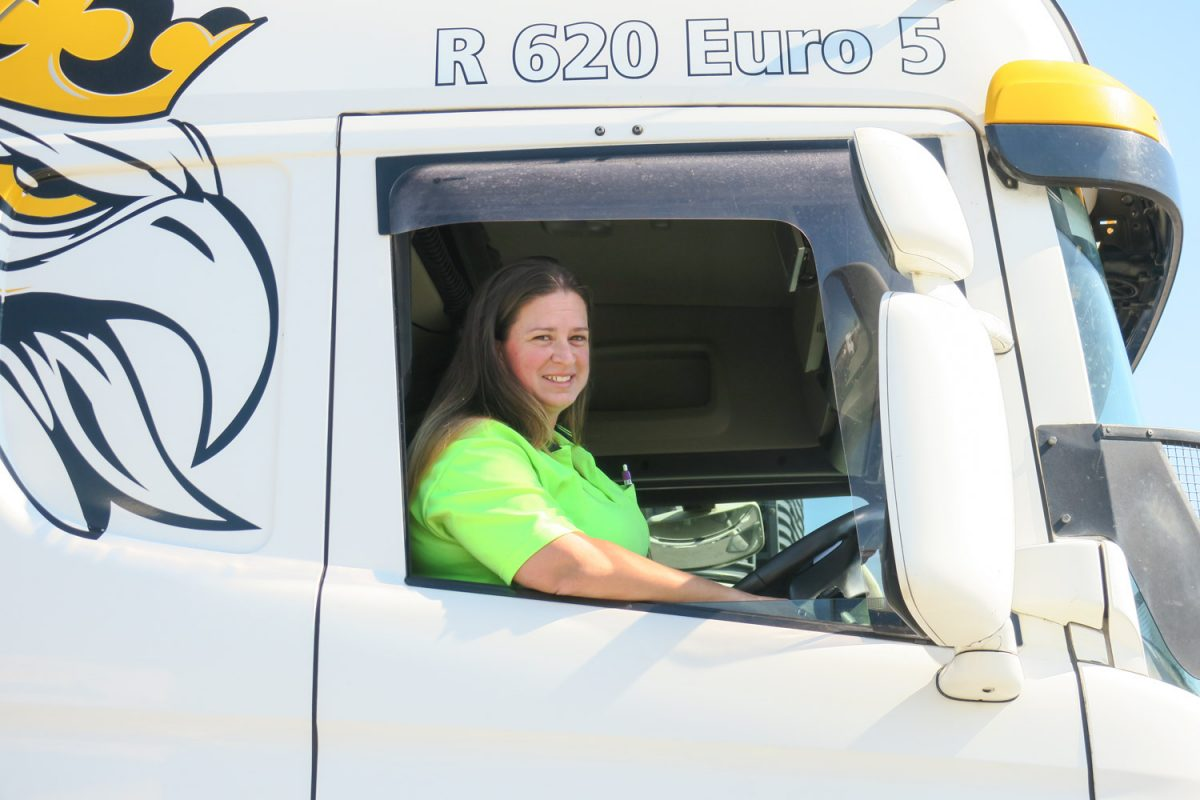 affirmative action on women truck drivers