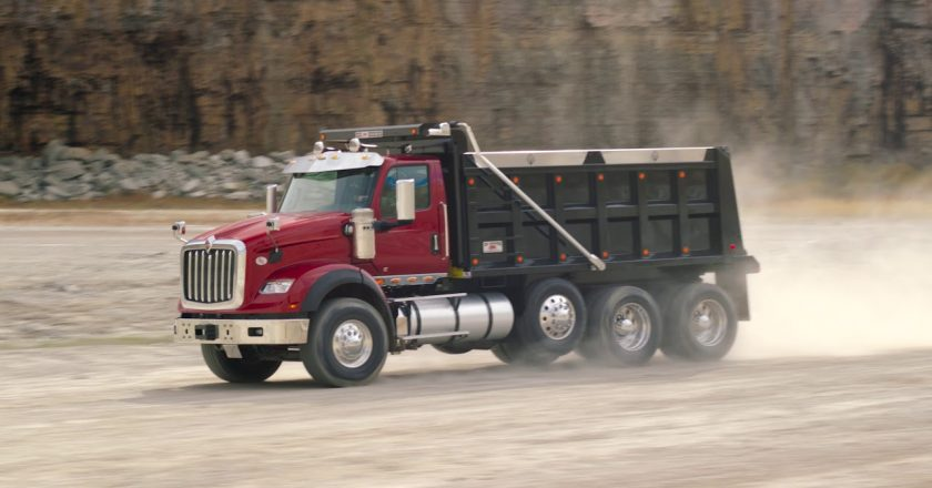 the new International truck