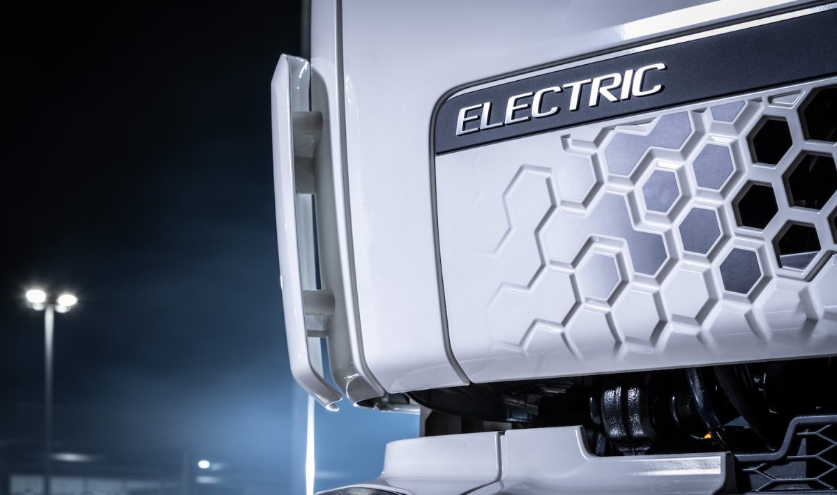 Linfox's electric truck