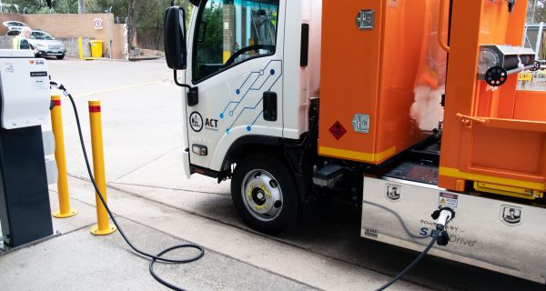 100 per cent electric tipper