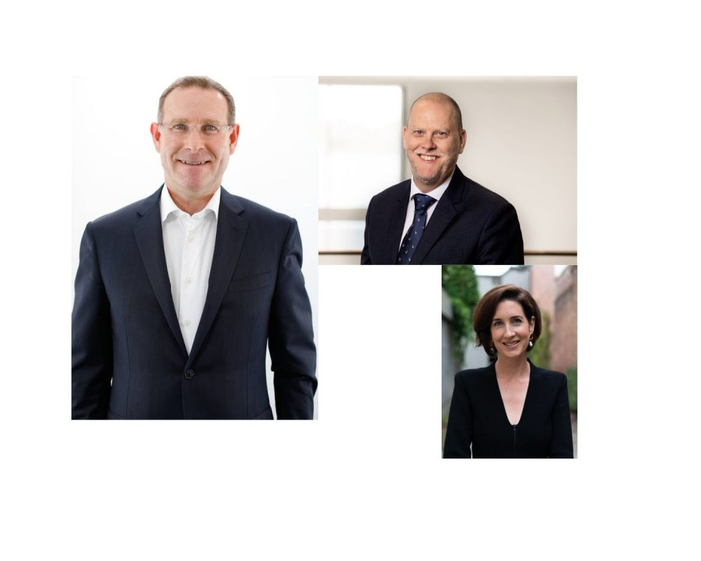 three major new appointments