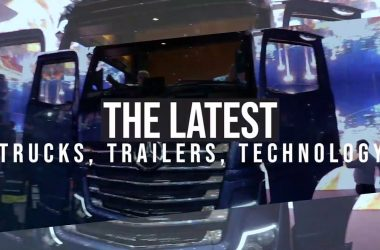 winding up for the Brisbane Truck Show