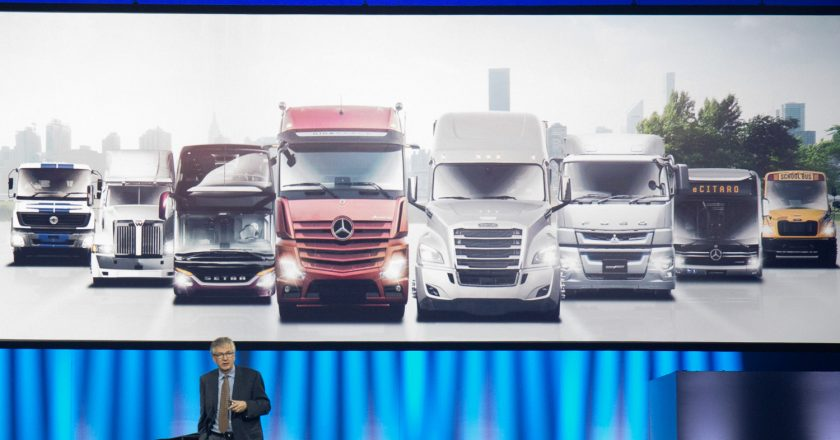 Daimler Trucks spin off from Mercedes Benz