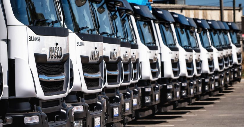 latest Iveco Euro 6 Accos join the Cleanaway fleet