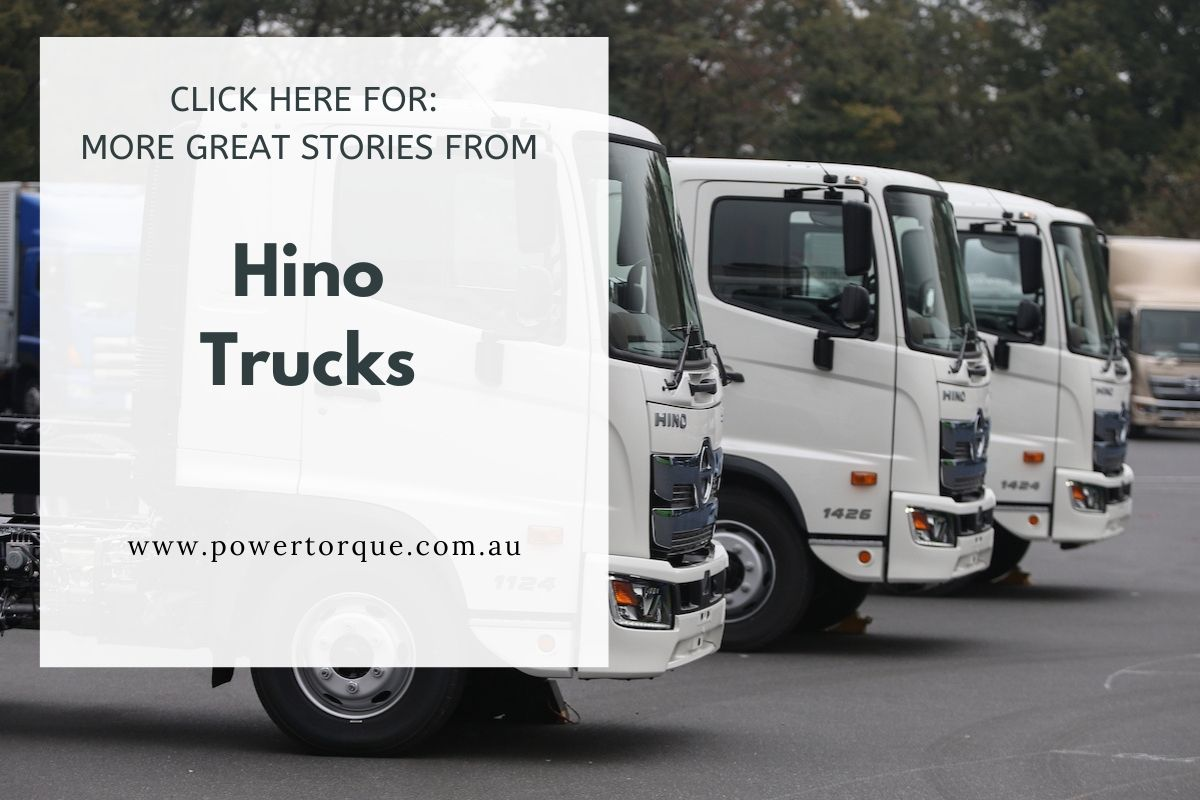 the Hino 700 dripfeed continues
