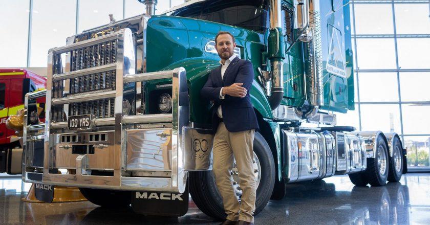 new Mack boss announced