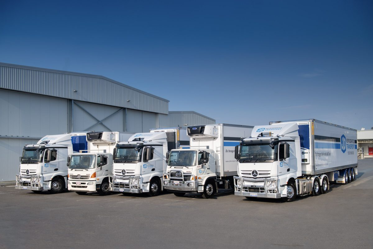 a successful refrigerated transport business