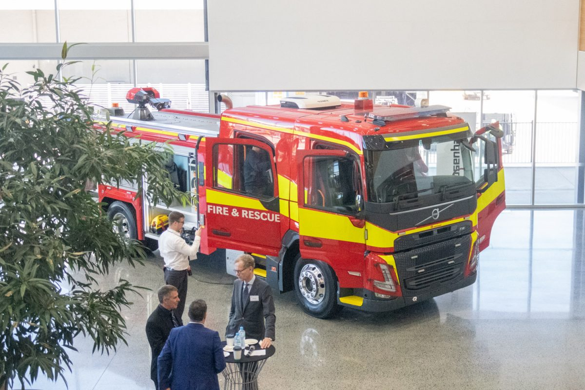 possibility of a new Australian made fire truck
