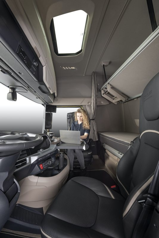 completely new big cabin DAF range is launched