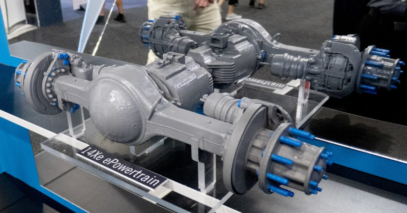 Meritor is preparing for electric drivelines