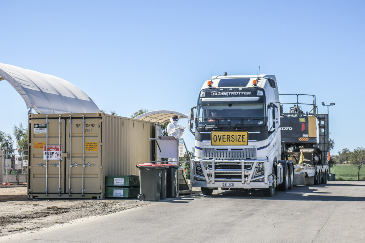 testing hubs for transport workers